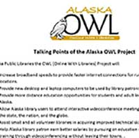Talking Points of the Alaska OWL Project