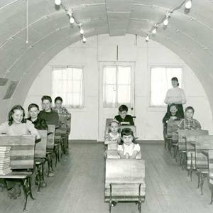 School In Rural Alaska Alaska State Library